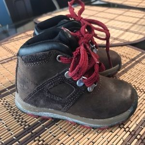 Toddler boy timberland boots size 5
